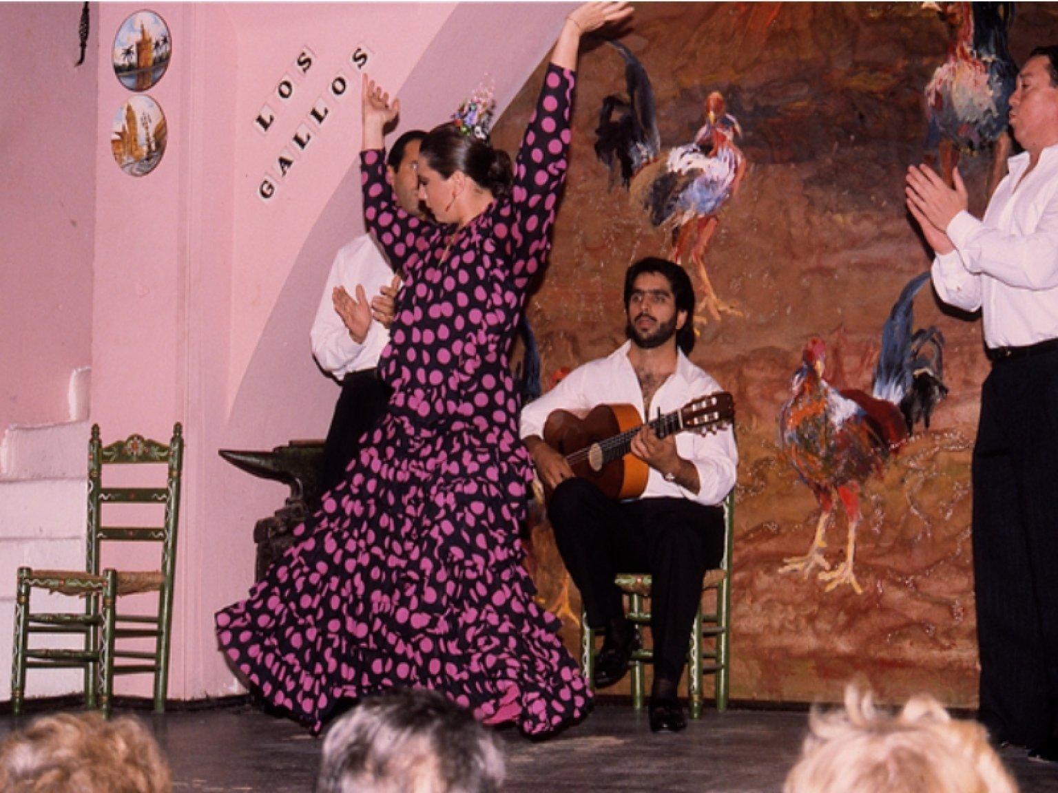 flamenco los gallos sevilla:
